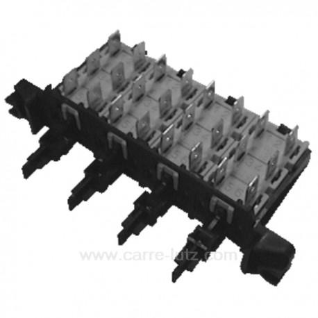 Clavier 4 touches à 6 cosses de lave linge Vedette Whirlpool Ariston Electrolux , reference 219043