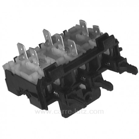 Clavier 3 touches de lave linge Brandt Vedette 51x8005 , reference 219203