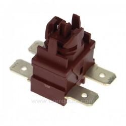 Interrupteur marche arrêt de lave vaisselle Ariston Indesit Hotpoint Creda Scholtes ref. C00096884 C00142650 C00140607, refer...