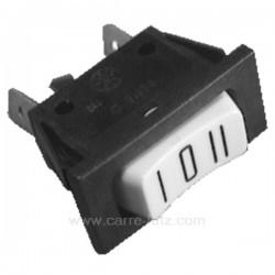 Interrupteur inverseur 10A 250V 3 cosses, reference 220108