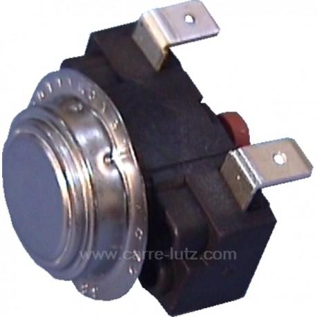 Thermostat réarmable NC 75° de lave vaisselle Fagor Brandt Vedette V75A001G4 , reference 222066