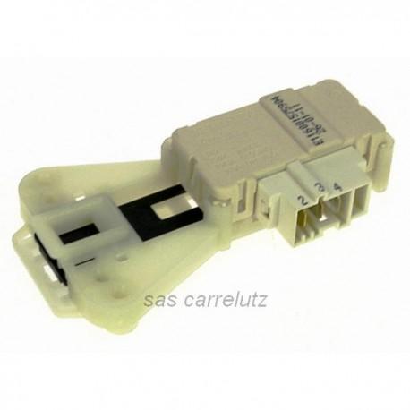 Verrou de porte metaflex ZV446 de lave linge Indesit Ariston Scholtes Hotpoint C00085194, reference 225190