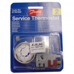 Thermostat de réfrigérateur universel Danfoss N°2, reference 227191