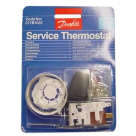Thermostat de congélateur universel Danfoss N°7, reference 227195