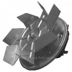 Ventilateur de four à chaleur tournante axe 28 mm, reference 231162