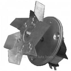 Ventilateur de four à chaleur tournante axe 43 mm , reference 231163