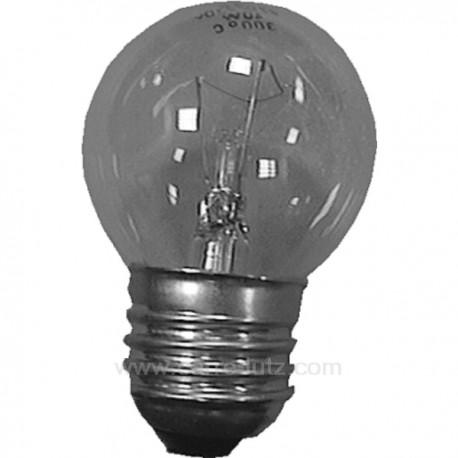 Ampoule de four E27 40W 300° , reference 232105