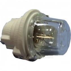 5024780004 - Kit support de lampe + lampe pour four Arthur Martin, Faure, Zanussi , reference 232120