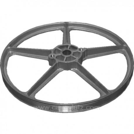 Poulie de tambour de lave linge Brandt Vedette 51x2037 , reference 304215