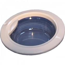 Hublot en verre complet de lave linge Ariston Indesit C00058702 , reference 401103