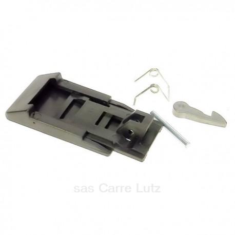 Poignée de hublot noir de lave linge Ariston Indesit C00031856 , reference 405099