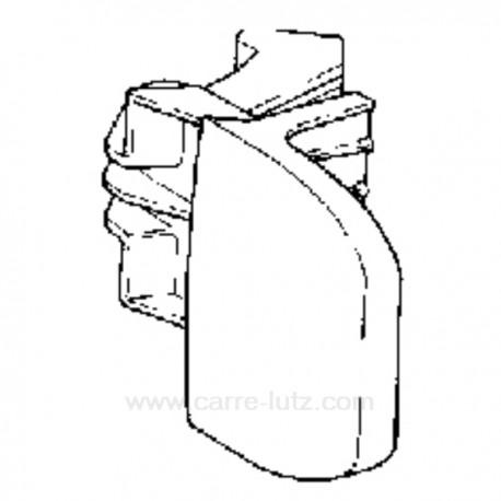 Poignée de hublot de lave linge Bauknecht 481990702229 , reference 405143