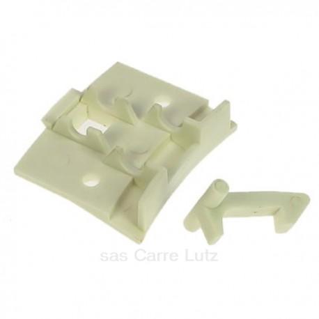 Poignée de hublot de lave linge Siltal 36015900 Aquaceane , reference 405206