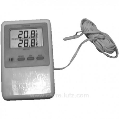 Thermomètre à mémoire interieur exterieur -40 à + 50, reference 520102