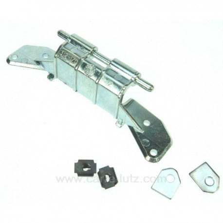 Charnière de hublot de lave linge Bosch Siemens 00153150 , reference 530113