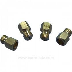 C00021381 - Panoplie d'injecteurs gaz butane propane pour plaque de cuisson Ariston