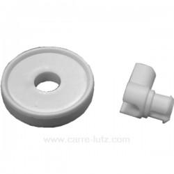 Roulette de panier inférieur de lave vaisselle Laden Whirlpool 481952888066, reference 540068