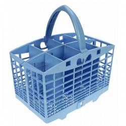 Panier à couverts bleu 240 X 132 X 250 mmde lave vaisselle Ariston Indesit Hotpoint Creda Scholtes ref. C00097955, reference...