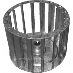 Turbine de ventilation métal d 12 mm de sèche linge A.Martin Faure Electrolux 50226087000 , reference 540247