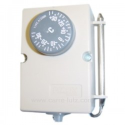 Thermostat de climatiseur ou chambre froide -35° +35°, reference 542057
