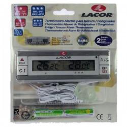 Thermométre alarme réfrigérateur congélateur 62456 Lacor, reference 542212