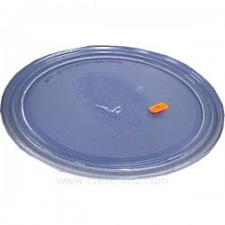 Plateau tournant diamètre 280 mm de four à micro ondes VIP20 Laden Whirlpool 481946678218 , reference 609606