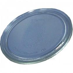 Plateau tournant diamètre 280 mm de four à micro ondes Moulinex , reference 609610