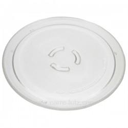 Plateau tournant diamètre 250 mm de four à micro ondes Ikea Whirlpool481246678412 , reference 609630