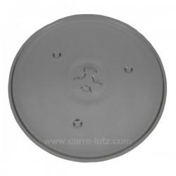 Plateau tournant diamètre 270 mm de four à micro ondes Domo , reference 609631