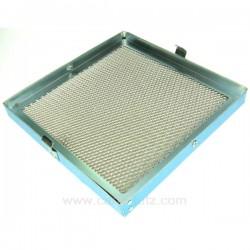 Filtre à graisse métal de hotte aspirante Novy 906109 , reference 701010