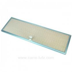 Filtre à graisse métal 50x16 cm Novy 605014 , reference 701012