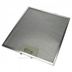 Filtre à graisse métal 267x303 mm de hotte aspirante Ariston Scholtes C00280008 Electrolux , reference 701015