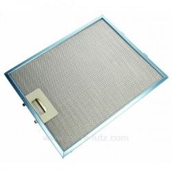 Filtre à graisse metal 260x320 mm de hotte aspirante Ariston Indesit Scholtes C00076591 , reference 701016