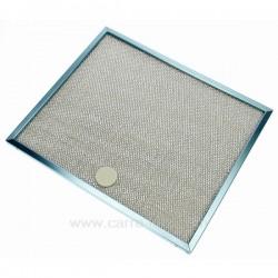 Filtre à graisse métal 300x250 mm de hotte aspirante Ariston Indesit Scholtes C00059024 , reference 701020