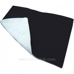 Filtre de hotte anti graisse et anti odeur dimensions 47 x 57 cm, reference 701112