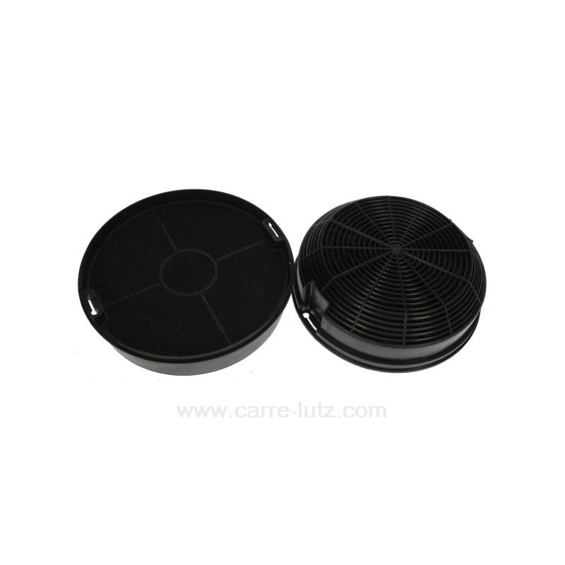 2 Filtres Charbon Actif Model 47 Diametre 155 Mm De Hotte Aspirante