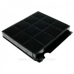 Filtre charbon actif Type 15 210 x 225 mm Epaisseur 30 mm de hotte aspiranteA_Matin Electrolux Ariston Scholtes Elicaref....