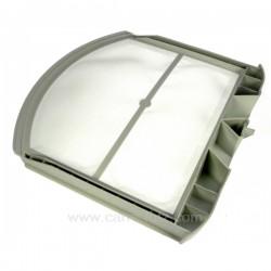 Filtre de sèche linge A.Martin Faure Electrolux 1254246034 1254246042  ADC37100W ADC47100W ADC47130W ADC47131W ADC5105/1 ADC...