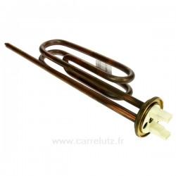 Résistance de chauffe eau bride 48mm 2200W, reference 703627