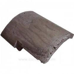 Brique inférieur coté droit 107403721 ou00001306174 pour convecteur Godin Petit Godin 3121 3721 3721A , reference 704773