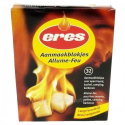 Allume feu 32 pièces Pour poêles à charbon feux ouverts barbecues, reference 705078