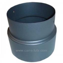 Réduction émaillée noir mat 167 / 153 mm, reference 705827