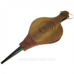 Soufflet simili, bois teinté vernis, reference 7064061