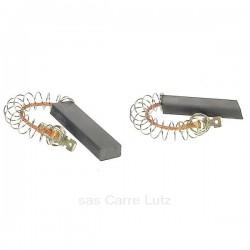 Jeu de charbons moteur 5x12x31mm de lave linge Bosch Siemens 00154740 , reference 715755