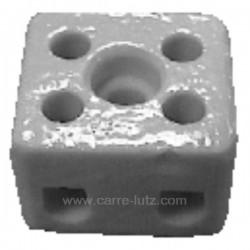 Domino en porcelaine bipolaire 2,5 mm², reference 732041