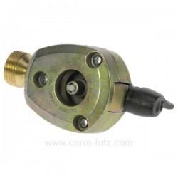 Adaptateur pour bouteille de gaz 20 mm, reference 737021
