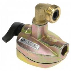 Adaptateur pour bouteille de gaz 27 mm, reference 737022
