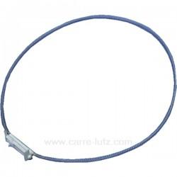 Collier de fixation de joint de hublot de lave linge Whirlpool Laden481249298037 , reference 123014