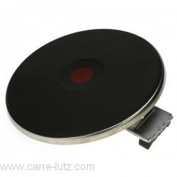 Plaque électrique diamètre 220 mm 2600W, reference 204054