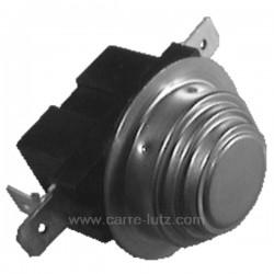 51x5407 - Thermostat 2 températures 3 cosses NC 87° NC 40° de lave linge Brandt Vedette